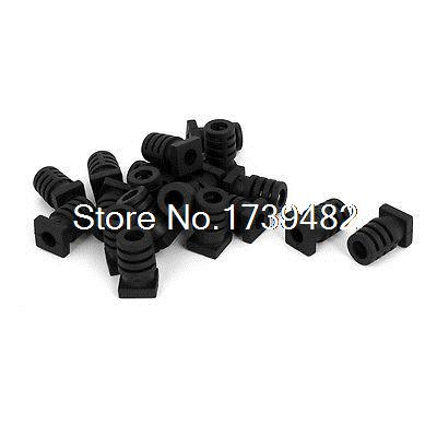 Lot of 10 Connector Insulation Boot Strain Relief 40mm long x 20mm x 25mm S45