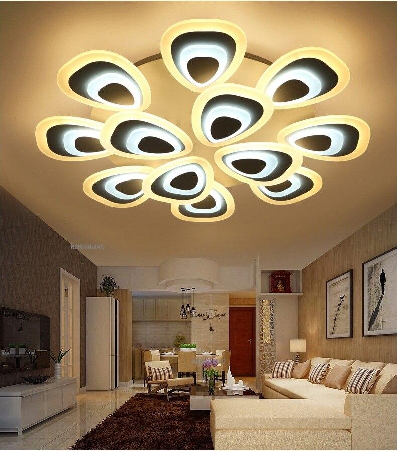 Creative Art LED Acrylic Ceiling Lamps Home Living Room Bedroom Study Room Restaurant Commercial lighting ceiling light