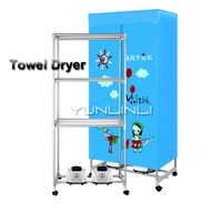 Portable Towel Dryer Commercial & Household Twin Engined Design & High Power Fast Heating Machine Tower ,Clothes Dryer GR 108