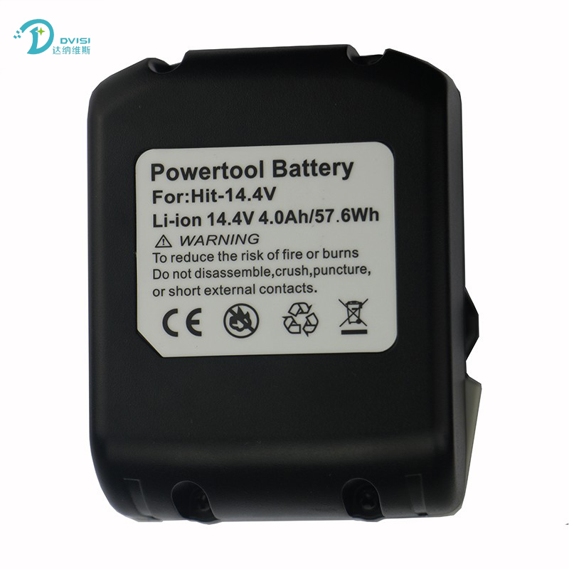 DVISI Brand New 14.4V 4.0Ah Li-Ion Replacement Battery for Hitachi BSL1430 BSL1415 326236 327729 326824 326823 BCL1430 C-2 brand new a1496 battery 7 6v 54 4wh for macbook air 13 a1466 li ion battery 2013