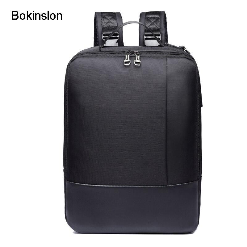 Bokinslon Women Backpack Man Popular Solid Color Backpack ... Mark Ryden  Men Male Wallet Fashion Casual ... Black Single Shoulder Bags for Men  Waterproof ... cbf2235037ba1