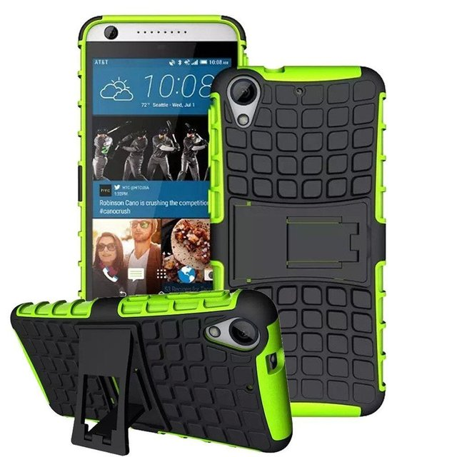 For HTC Desire 626S Case 626G+ Dual SIM Hybrid Kickstand Rugged Armor Silicon Cover Shockproof Hard Case For HTC 626G+ Dual SIM