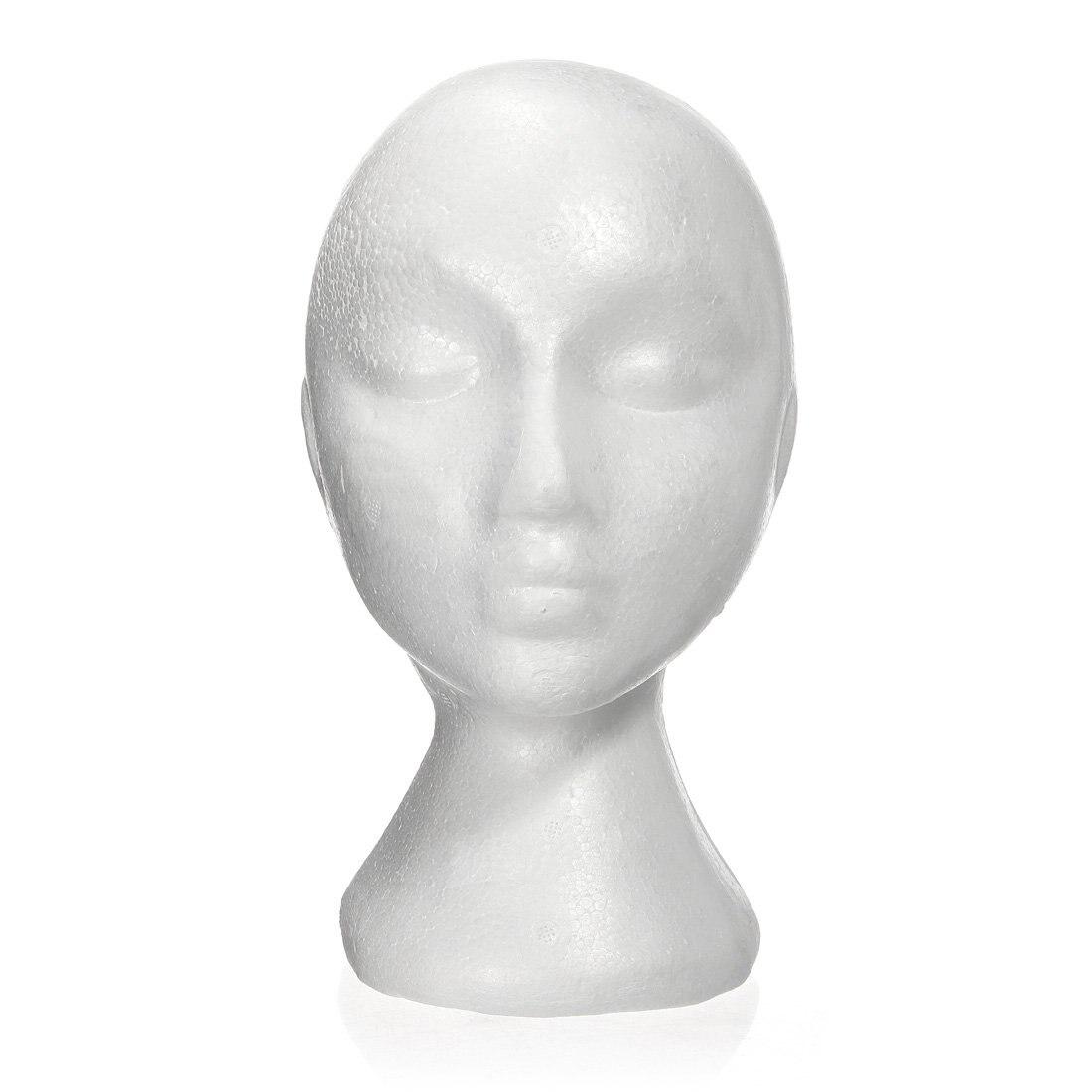 27.5 x 52CM Dummy Mannequin Head Εκθετήριο - Περιποίηση και στυλ μαλλιών - Φωτογραφία 4