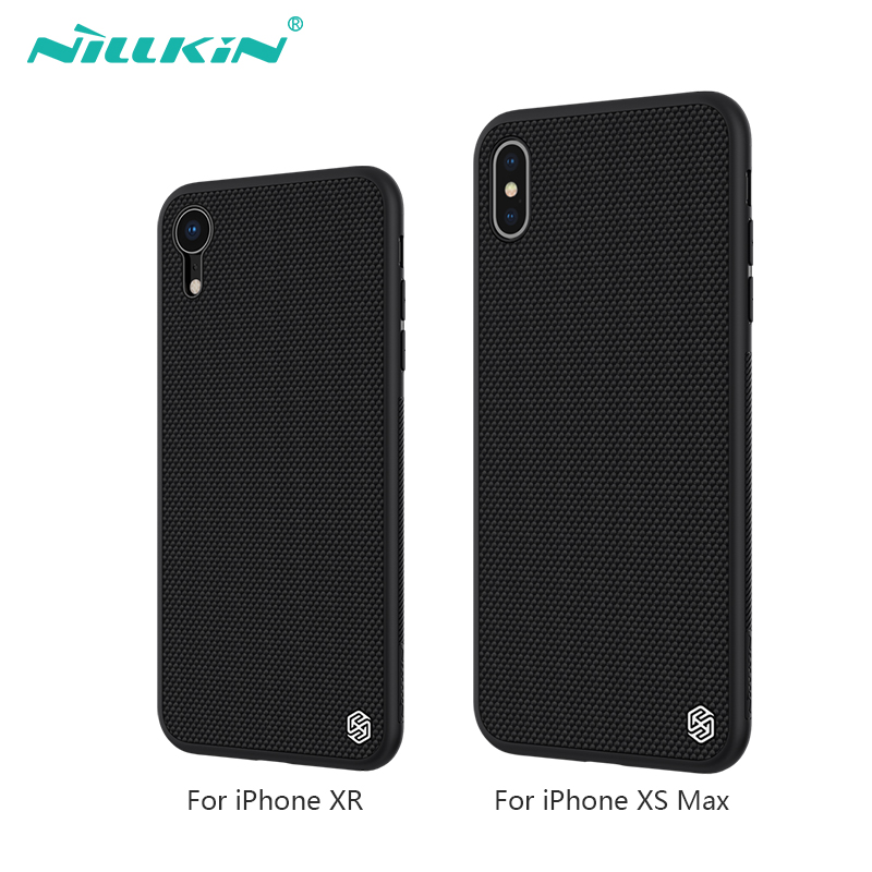 "Iphone Xr Case | Nillkin Nylon PC Plastic Back Cover For IPhone XR Case Protector Funda For IPhone Xs Max Cover 6.1"" & 6.5"" For Iphone Xsmax"