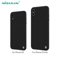 Nillkin Nylon PC plastique couverture arrière pour iphone XR étui protecteur funda pour iphone xs max couverture 6.1 & 6.5 pour iphone xsmax