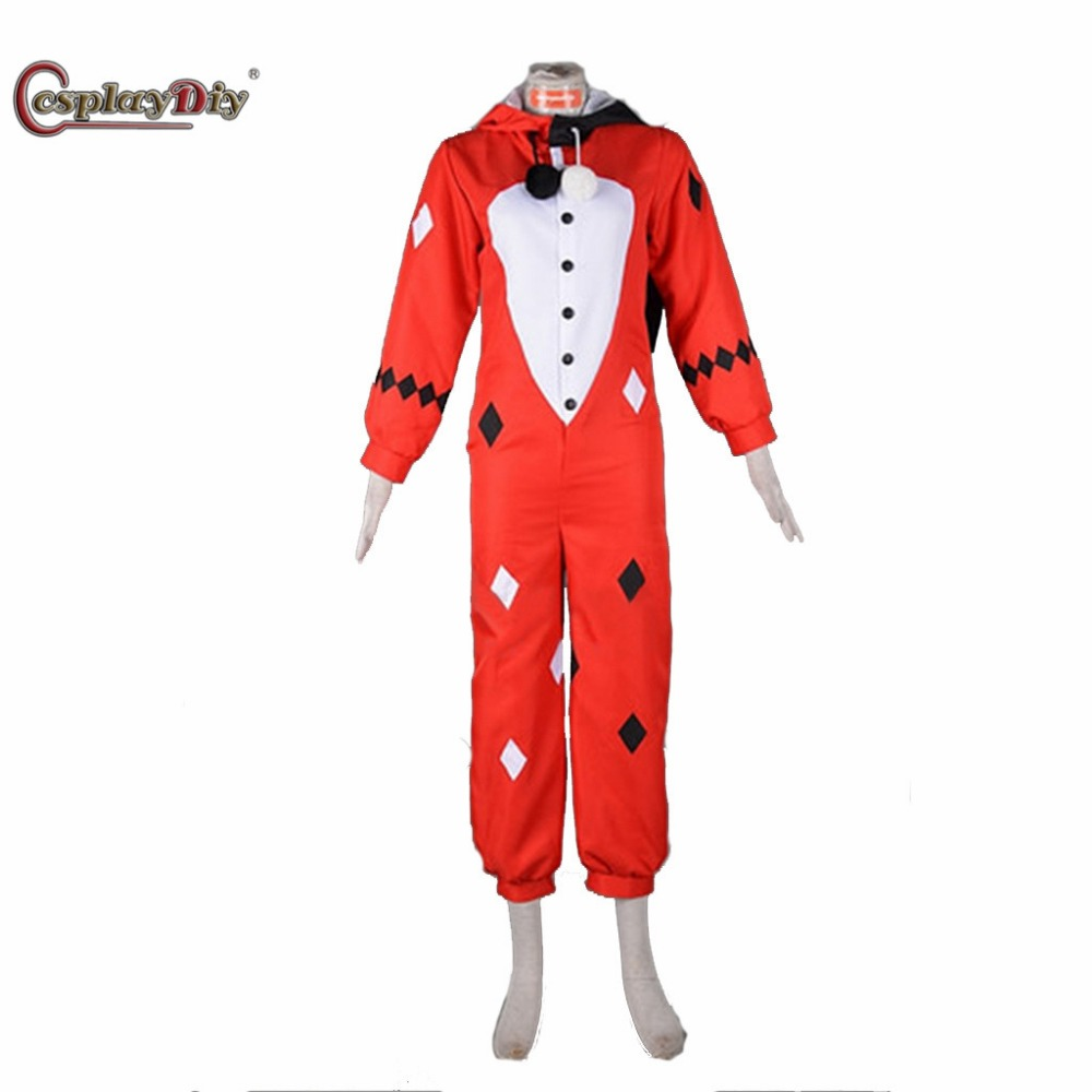 Cosplaydiy Costume Harley Quinn Cosplay Pajama Clothing Adult Women Costumes For Halloween Custom Made