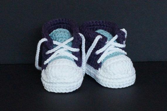 Handgemachte Baby Mädchen Jungen Häkeln Sneaker Booties Infant