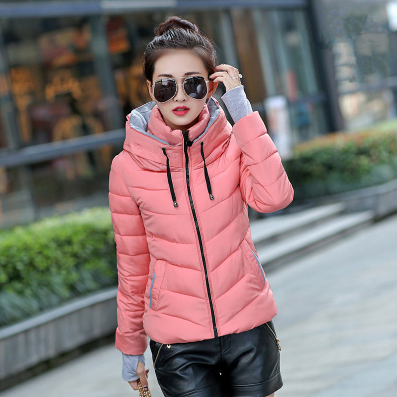 Women Winter Jacket Parka Thicken Outerwear Female Coats Hooded Design Cotton padded Plus Size Chaqueta Invierno Warm Tops MZ709