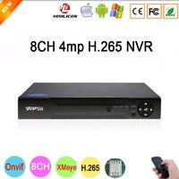 داهوا لوحة Hi3536D Xmeye 8CH * 4MP/4CH * 5MP HD الرقمية 8CH 8 قناة 4MP H.265 مراقبة IP ONvif كاميرا تلفزيونات الدوائر المغلقة NVR شحن مجاني