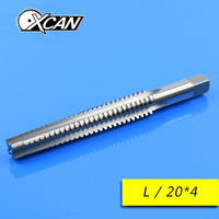 XCAN 1 Piece Metric tap M20 Thread Pitch 4.0mm TR Tap Left Or Right Hand Tap Thread Tap Hand Tools