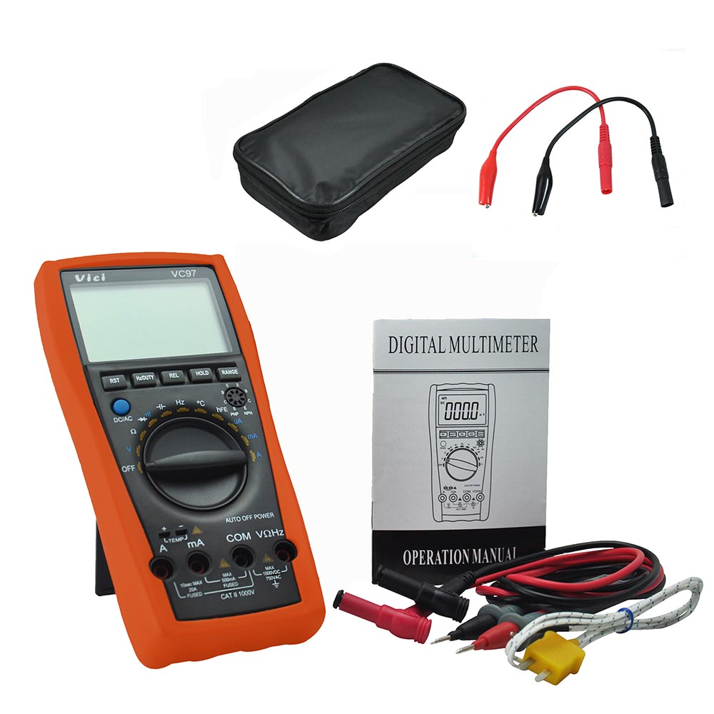 Multimeters M018 Vici Vc87 For Motor Drives Tester Vsd Duty True Rms Auto Range Digital Multimeter Less Expensive