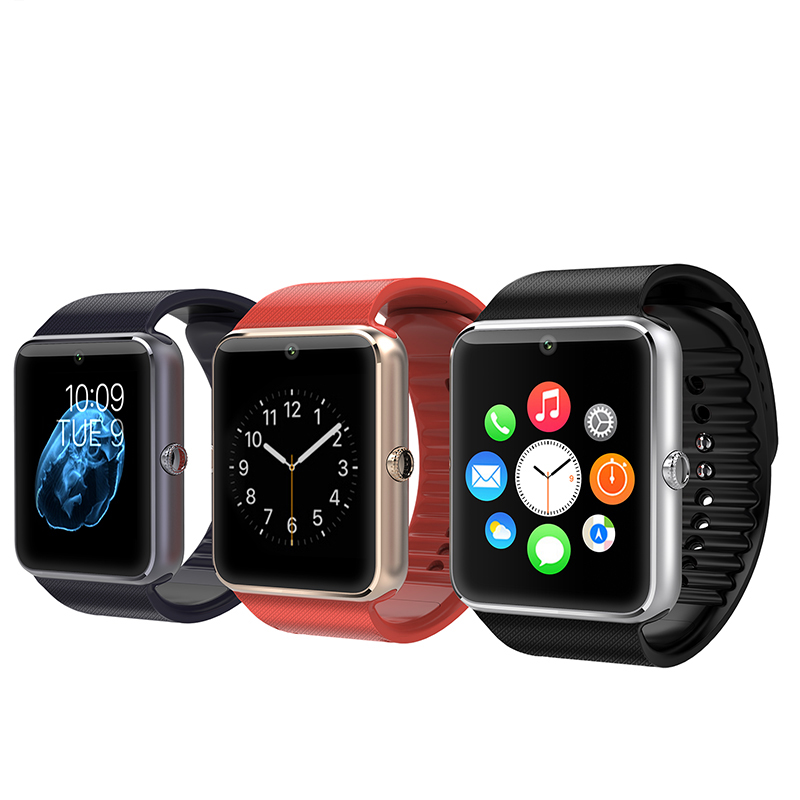 2018 hot new Bluetooth smart watch SmartwatchGT08 camera SIM card call mobile phone call information push multi-function watch
