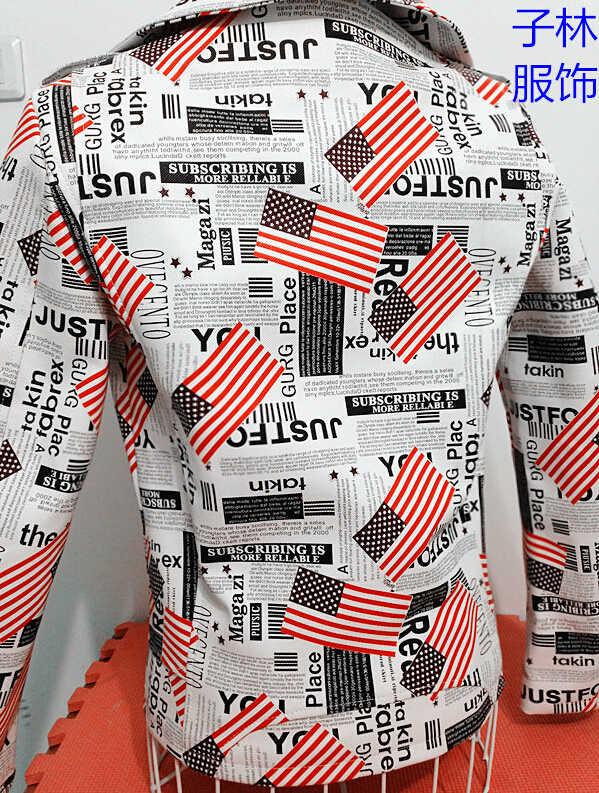 新人歌手 Pu 衣装スタイリングヘアスタイリスト服スリム革オートバイ新聞人気男性の衣装革 Jacekt コート