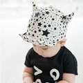 HOT star print Monster Baby Hat Baby Cap visor cap Kids Hats Newborn Photography Props Baby Beret Cap for 5~18 month kids