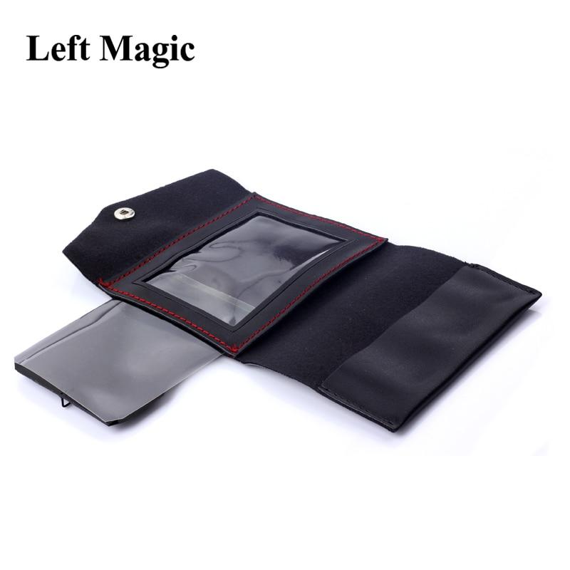Le portefeuille Maric tours de magie carte disparaître changement portefeuille magique gros plan Illusion Prop comédie mentalisme accessoires
