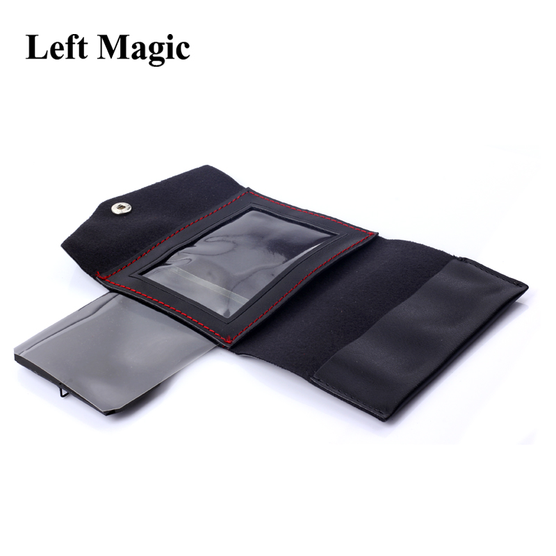 The Maric Wallet Magic Tricks Card Vanishing Appearing Change Wallet Magic Close Up Illusion Prop Comedy Mentalism  Accessories