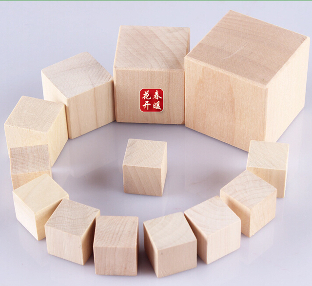 Us 900 Wooden Cubes 1 Inch Perfect Wood Blocks 1 Inch For Baby Blocks Baby Shower And All Cube Crafts In Blocks From Toys Hobbies On