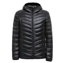 2019 Winter Ultralight Men 90% White Duck Down Jacket Winter