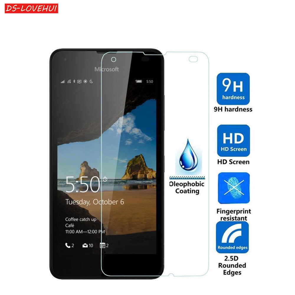 DS-LOVEHUI Screen Tempered Glass For Microsoft Nokia Lumia 640 640XL 950 950XL 530 650 550 535 532 435 630 Premium Protector