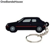 OneBandaHouse Пользовательский логотип 2D мягкий ПВХ брелок для рекламного подарка