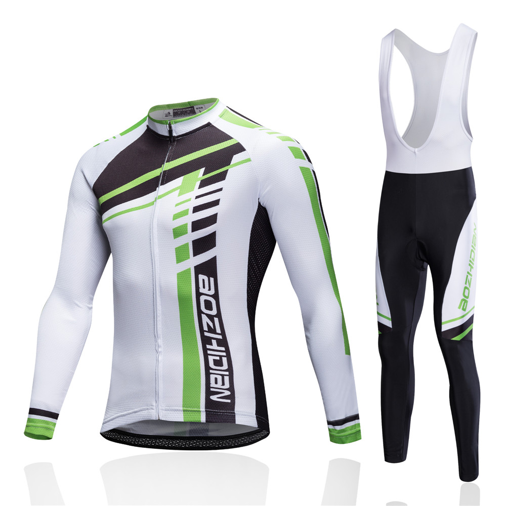 Winter Thermal Brand Pro Team Cycling Jersey Set Long Sleeve Bicycle Bike Cloth Cycle Pantalones Ropa Ciclismo Invierno