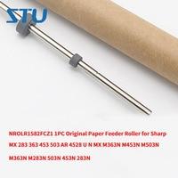 NROLR1582FCZ1 1PC Original Paper Feeder Roller for Sharp MX 283 363 453 503 AR 4528 U N MX M363N M453N M503N M363N M283N 503N