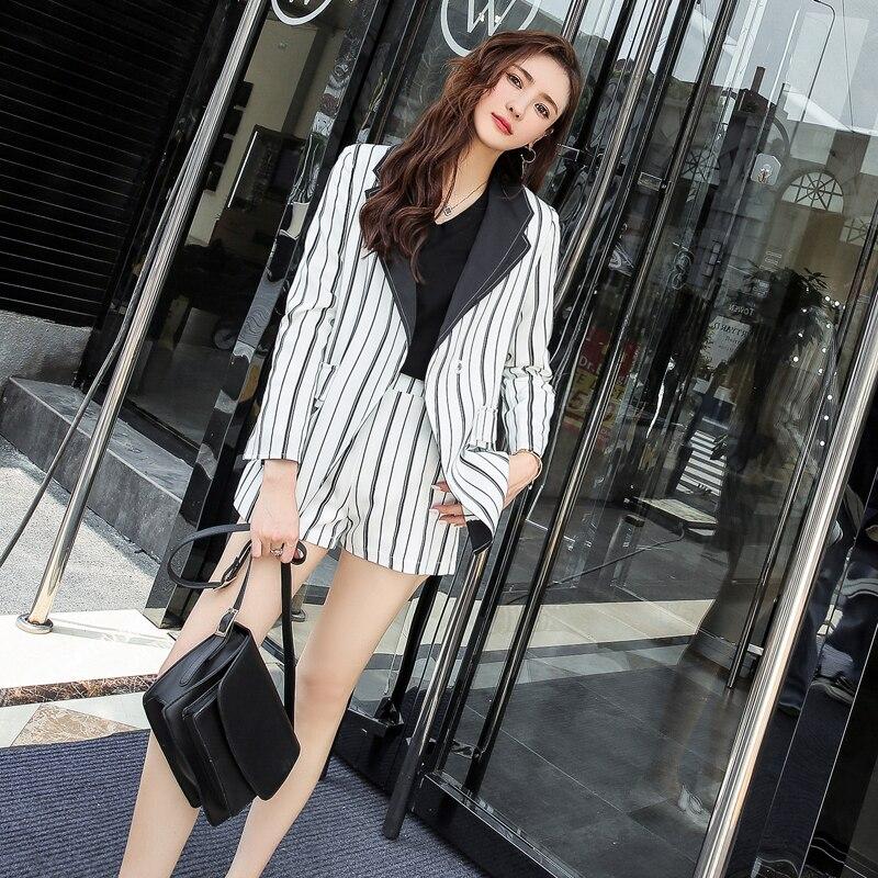 Compra blazer and short set women y disfruta del envío gratuito en  AliExpress.com 45ea902466af
