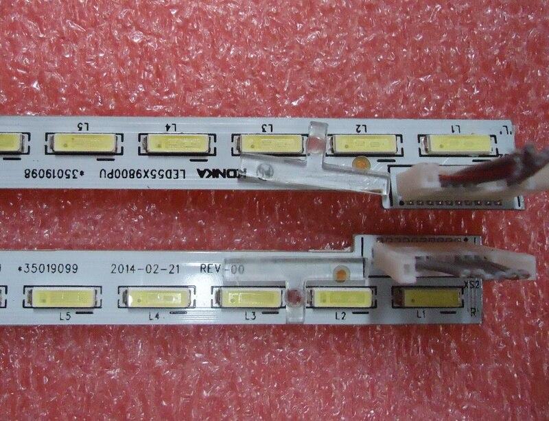 Led Backlight Screen35019082 35019083 LED50X9800PU 37027545LT  1pcs=56led 539mm