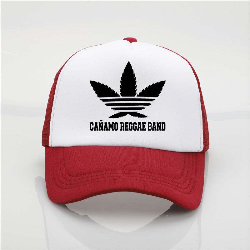9bd3034054e Reggae pattern band printing net cap baseball cap Men and women Summer  Trend Cap New Youth