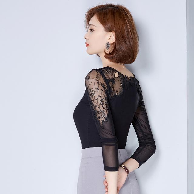 Blouse chiffon shirt women tops long sleeve women