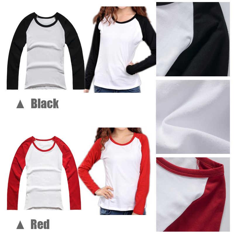 Cute Pokemon Pikachu Face Black Veil Brides Crew BVB Design Womens Ladies Printing T Shirt Graphic Tee Long Sleeve Cotton