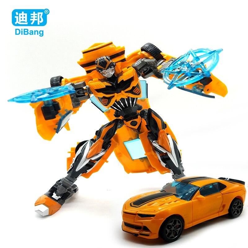 Лидер продаж 18.5 см Новое поступление Большой Классический Деформации Пластик робот автомобили игрушки Фигурки образования детей игрушки п…