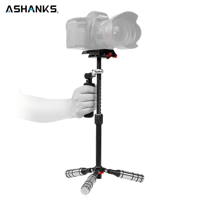 Por 0.5-3KG Pro Handheld Mini Cam Carbon Fiber dslr Steadicam steadycam stabilizer Tripods for DSLR Camcorder camera