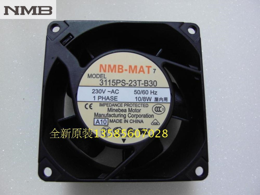 Original NMB Blowers 3115PS-23T-B30 8038 220V axial fans велосипед bulls sharptail street 2 disc 27 5 2016