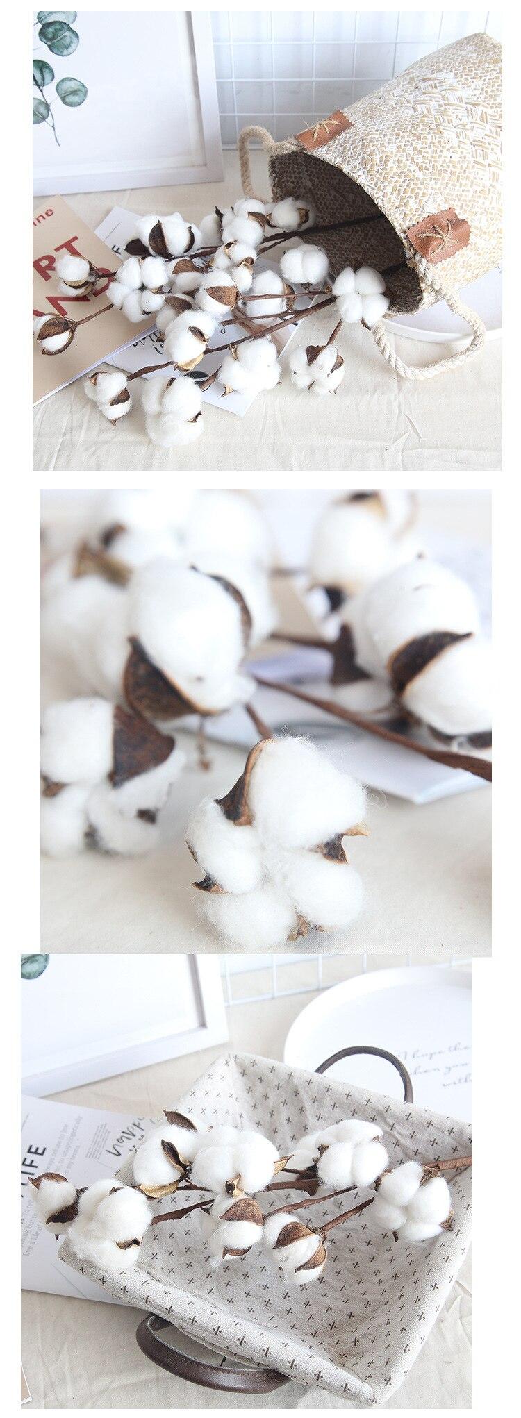 Cotton Flower - Fake Flowers