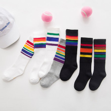 CN-RUBR High Quality Kids Socks Fashion Striped Baby Sock Spring Summer Children Boy Girl Socks Toldder Clothing Accessories