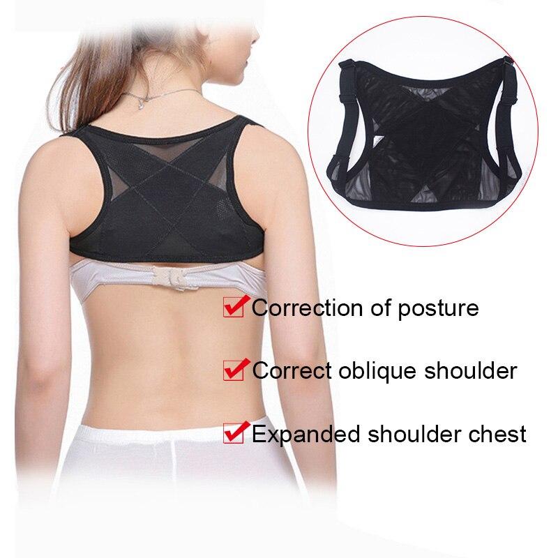 Back Posture Corrector for Women Shoulder Support Breathable Vest Adjustable Brace Belt Dropshipping 4
