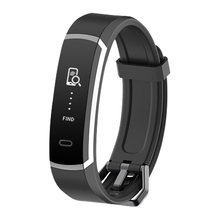 SMS Call Smart MEN Running Bluetooth Sleep Heart Blood Pressure Monitoring Calorie Pedometer Distance Silicone Watch Bracelet