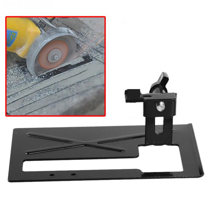 Angle Grinder Dedicated Cutting Stent Thickened Cutting Balance Base Angle Grinder Holder Safety Shield DIY Tool For Woodworking hoomall angle grinder dedicated cutting seat stand machine bracket rod table cover shield safety woodworking tools accessories