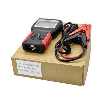 Probador de batería de coche LANCOL Multi-idioma 12V 2000CCA sistema de batería de detección automotriz Bad Cell herramienta de diagnóstico Tester