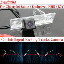 Lyudmila Car Intelligent Parking Tracks Camera FOR Chevrolet Estate / Exclusive / HHR / JOY HD Back up Reverse Rear View Camera
