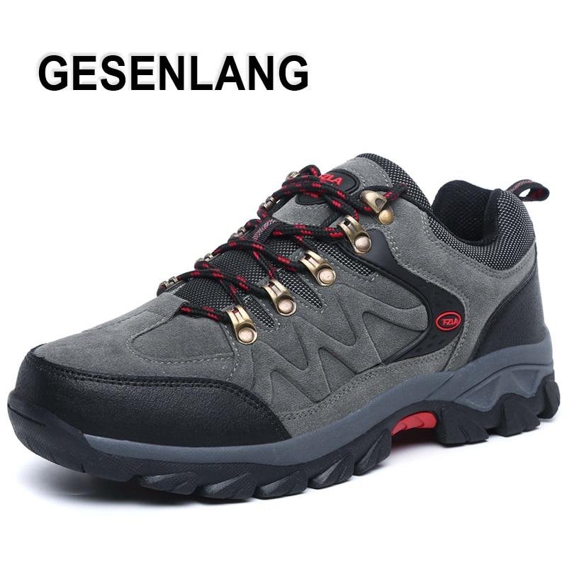 2019 Heren Outdoor Wandelschoenen Ademend Draagbaar Trail Sports Heren Sneakers Outdoor Toerisme Jacht Trekking Klimschoenen Nieuw