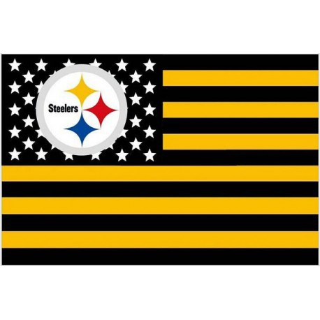 Pittsburgh Steelers Usa Star Stripe Nfl Premium Team