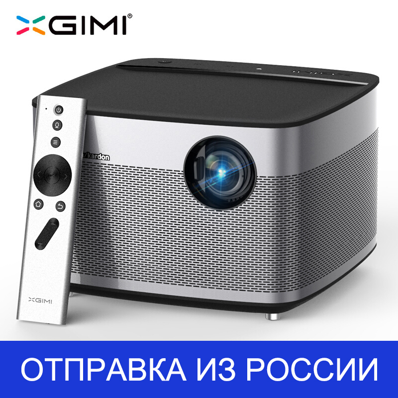 цена на 300inch XGIMI H1 android tv 1080 Full HD 3D Support 4K mini-Projector 3GB RAM Android 5.1 Bluetooth Wifi Home Theater DLP Beamer