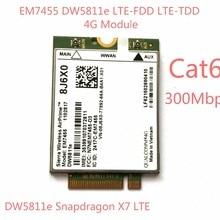 EM7455 DW5811E PN внутренней катушкой, 8J6X0 FDD/аппарат, который не привязан к оператору сотовой связи LTE CAT6 модуль 4G 4G сим-карту для E7270 E7470 E7370 E5570 E5470 точность 7720 7520 3520 7510