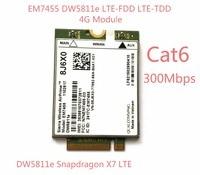 New EM7455 DW5811E PN 8J6X0 FDD TDD LTE CAT6 4G Module 4G Card For E7270 E7470