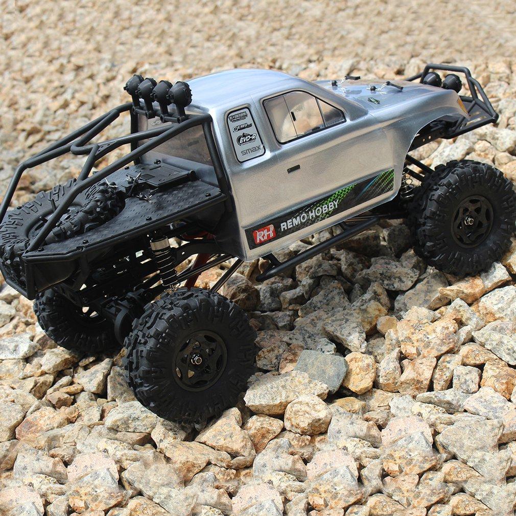 Remo 1071-SJ 1/10 2.4 GHz 550 brossé RC voiture tout-terrain camion roche chenille RTR automatique véhicule voiture RC grimpeur modèle jouets passe-temps