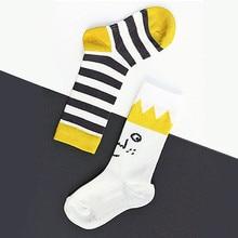 2016 new Crown striped baby socks boy girl infant toddler kids socks cotton children meias girls boys sock 0-4y