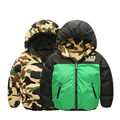 Goose Baby Duck Parka Thick Kids Padded Coat Outerwear Doudoune Reima Double Side Jersey Baby Clothes Down Jacket 70Z013