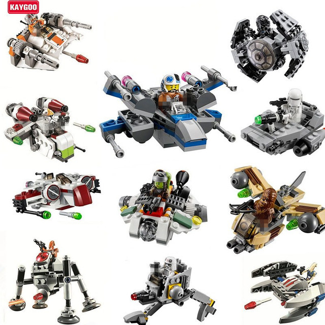 kaygoo star series space war brick block rogue one warships spaceship clone troopers ships building blocks - Lego Star Wars Vaisseau Clone